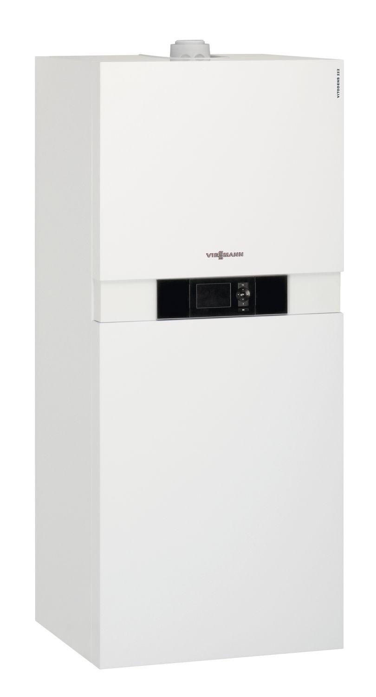 Built-in condensing gas boiler